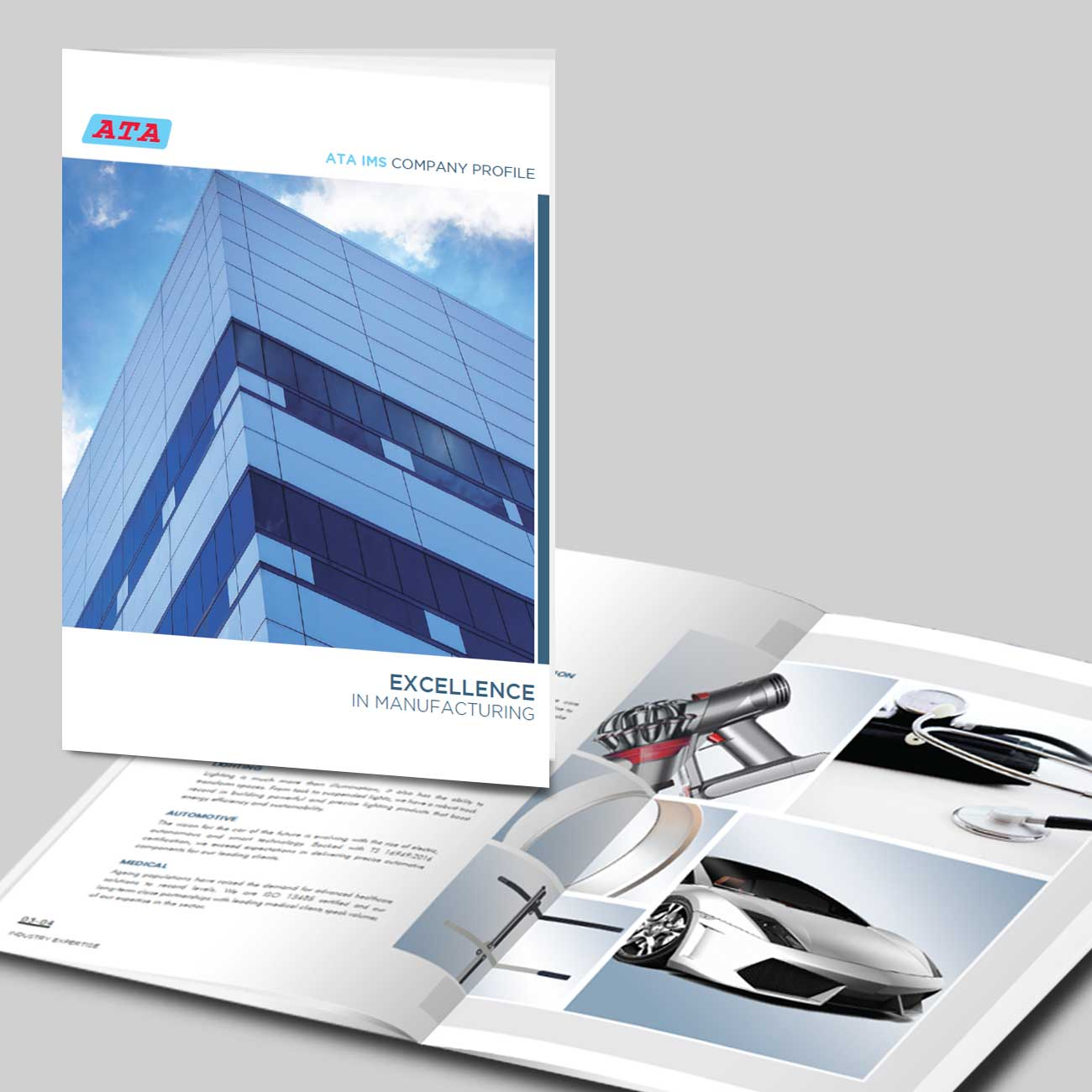 ATA Corporate Profile Design