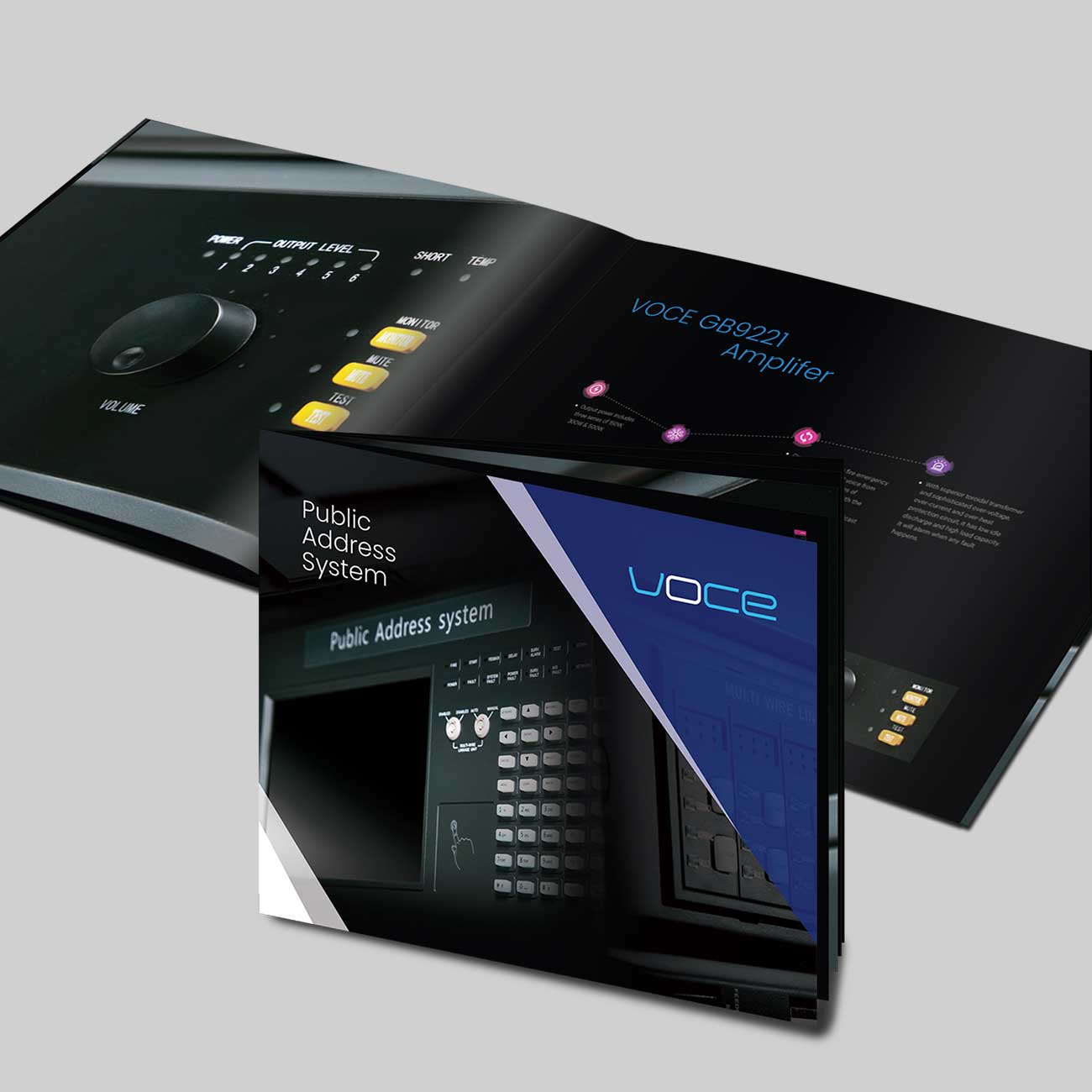 Voce Product Catalogue Design